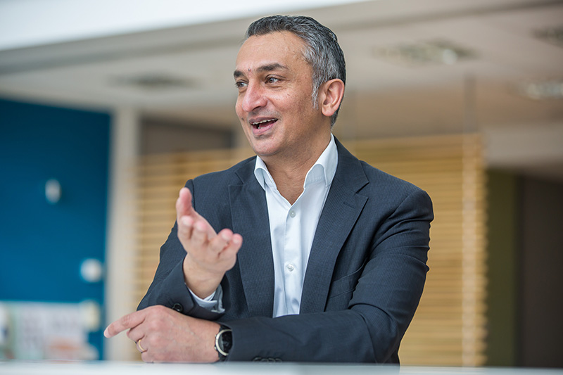 Oxford Nanopore technologies CEO Gordon Sanghera
